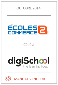 Cession Ecole2commerce.com
