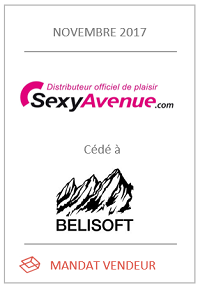 Cession du site Internet sexyavenue.com