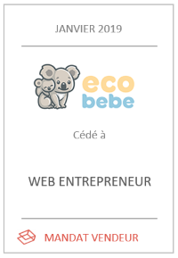 Cession du e-commerce Eco-bebe.com