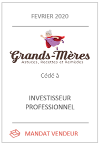 Cession du site de contenu Grands-meres.net